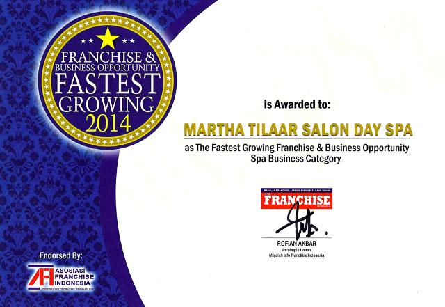 THE FASTEST GROWING FRANCHISE 2014